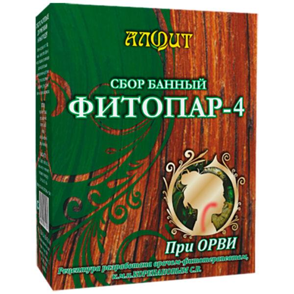 Сбор банный Фитопар-4 При ОРВИ