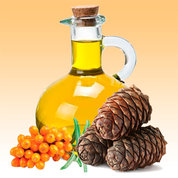 Кедрово-облепиховое масло