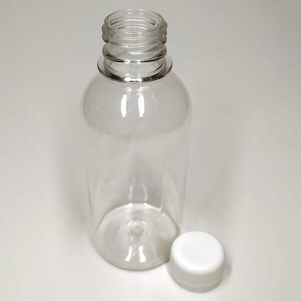Бутылка ПЭТ 125 мл выдувная прозрачная
