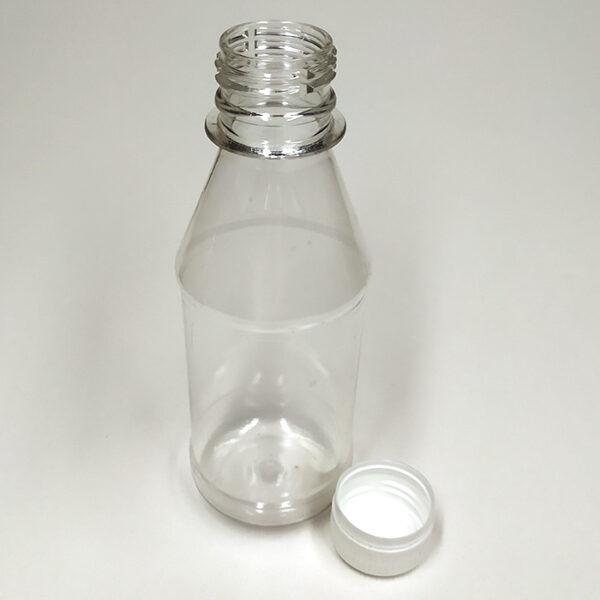 Бутылка ПЭТ 180 мл прозрачная