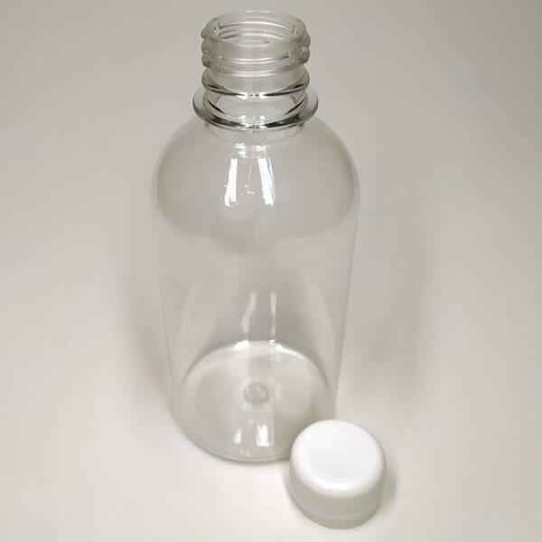 Бутылка ПЭТ 200 мл выдувная прозрачная