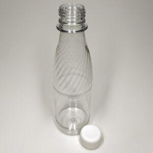 Бутылка ПЭТ 250 мл прозрачная