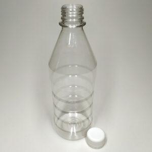 Бутылка ПЭТ 500 мл прозрачная